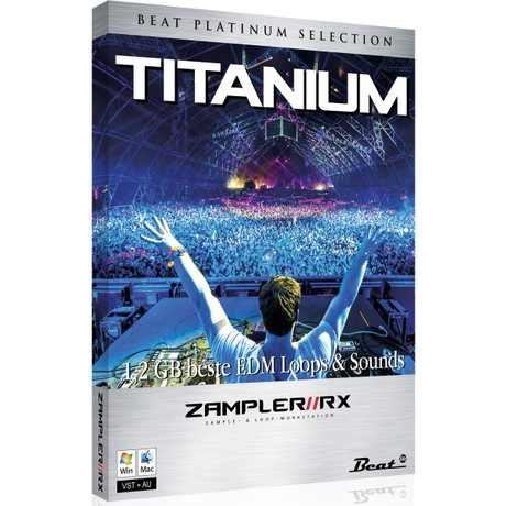TITANIUM - Pure mainstream sound bank for Zampler//RX workstation (Win/OSX plugin included)