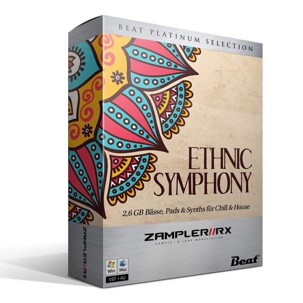 ETHNIC SYMPHONY – 74 pads & synths for Chill & House