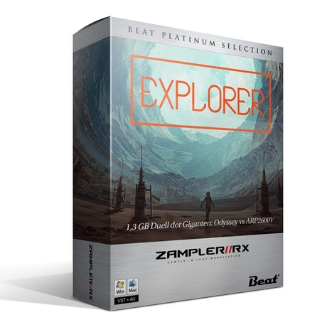 EXPLORER – 50 patches for Zampler/RX workstation