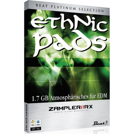 ETHNIC PADS -  Sound bank for Zampler//RX workstation (Win/OSX plugin included)