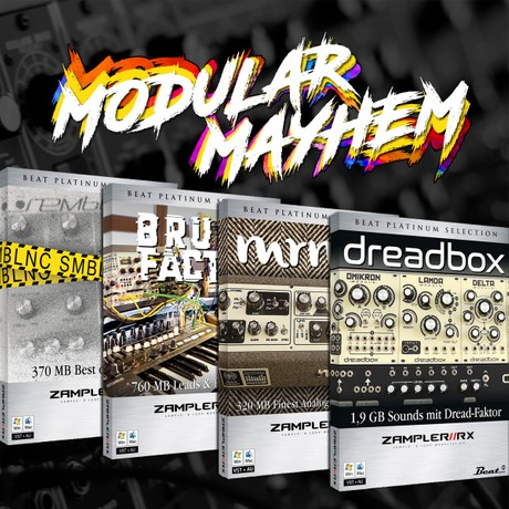 MODULAR MAYHEM BUNDLE – 151 freaky patches