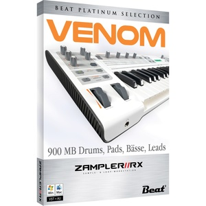 VENOM – sound bank for Zampler//RX workstation (Win/OSX plugin included)