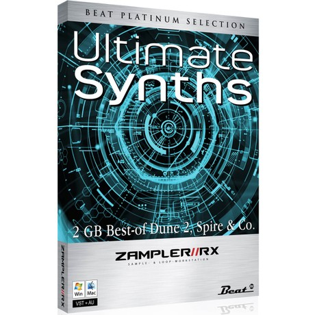 ULTIMATE SYNTHS - Sound bank for Zampler//RX workstation (Win/OSX plugin included)