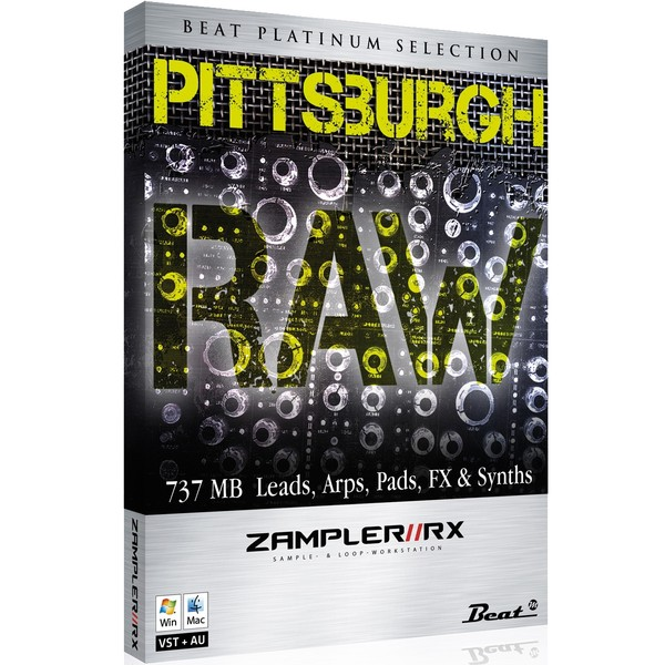 PITTSBURGH RAW – Sound bank for Zampler//RX workstation (Win/OSX plugin included)