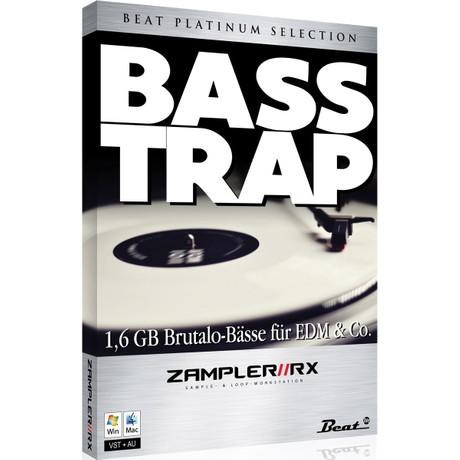 BASS TRAP – 70 brutal basses for Zampler//RX workstation (Win/OSX plugin included)
