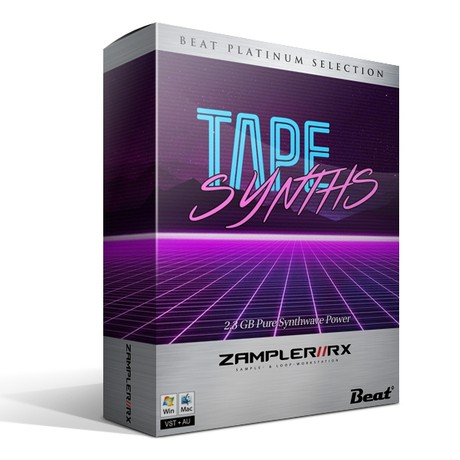 TAPE SYNTHS – 76 patches for Zampler/RX workstation