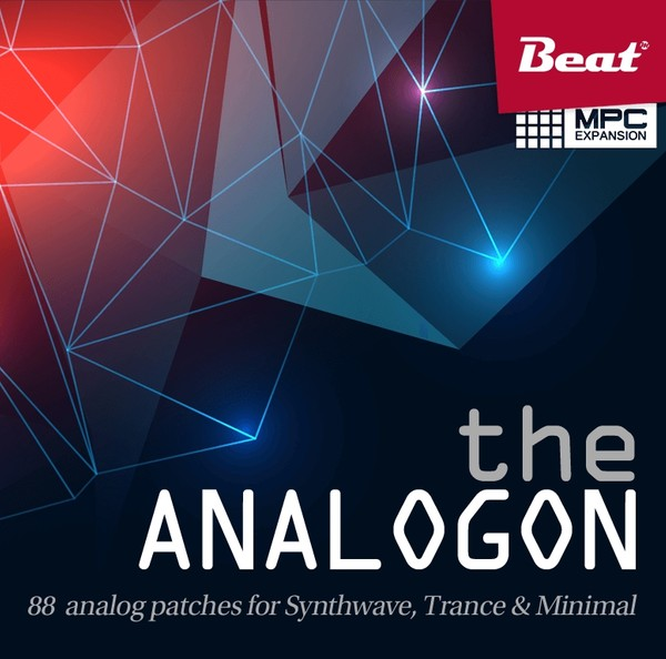 MPC Expansion: THE ANALOGON - 88 patches for Synthwave, Trance & Minimal