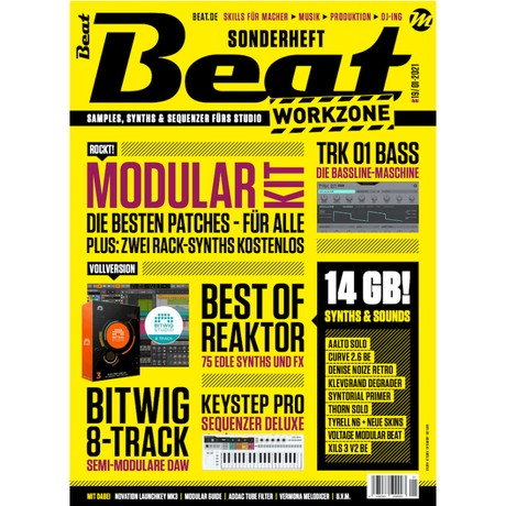 Beat Workzone 01/2021 - Bitwig 8-Track and 14 GB software