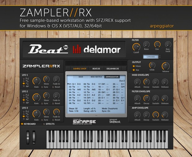 DREADBOX - Modular synth sound bank for Zampler//RX workstation (Win/OSX plugin included)