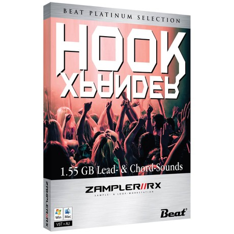 HOOK XPANDER – 62 lead & chord sounds for Zampler//RX workstation (Win/Mac plugin included)