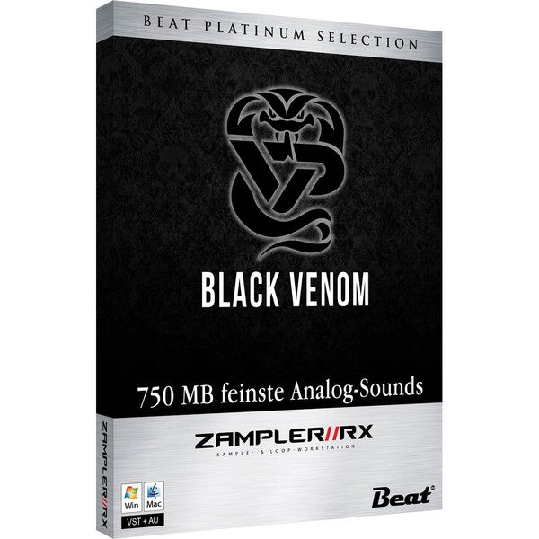 BLACK VENOM – 36 analog patches for Zampler//RX workstation (Win/OSX plugin included)