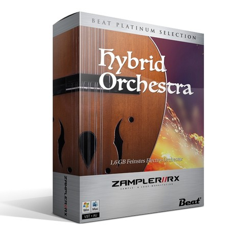 HYBRID ORCHESTRA – 48 patches for Zampler/RX workstation