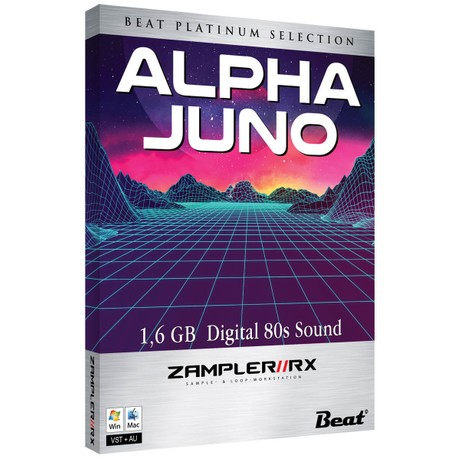 ALPHA JUNO – 64 patches for Zampler//RX workstation