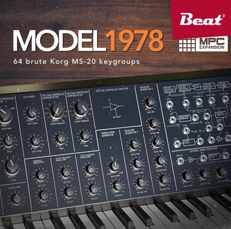 MPC Expansion: MODEL 1978 - More than 60 brute Korg MS-20 sounds
