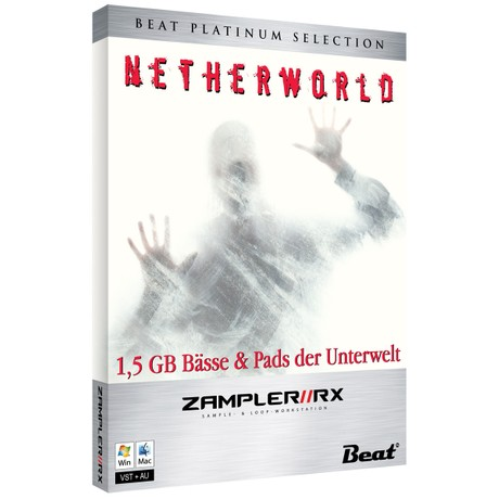 NETHERWORLD – 44 dark pads for Zampler//RX workstation