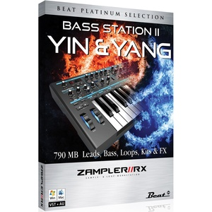 YIN&YANG - BassStation II sound bank for Zampler//RX workstation (Win/OSX plugin included)