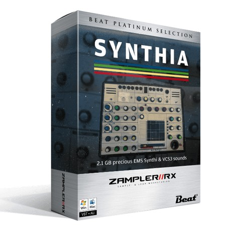 Zampler SYNTHIA - 50 precious EMS Synthi & VCS3 patches