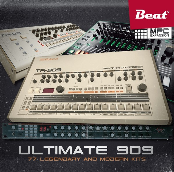 ULTIMATE 909 for MPC - 77 shades of Transistor Rhythm