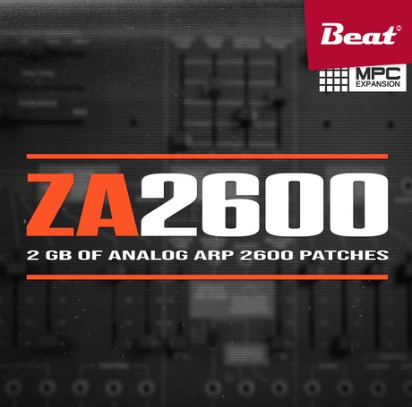 MPC Expansion: ZA2600 - 65 finest ARP2600 patches
