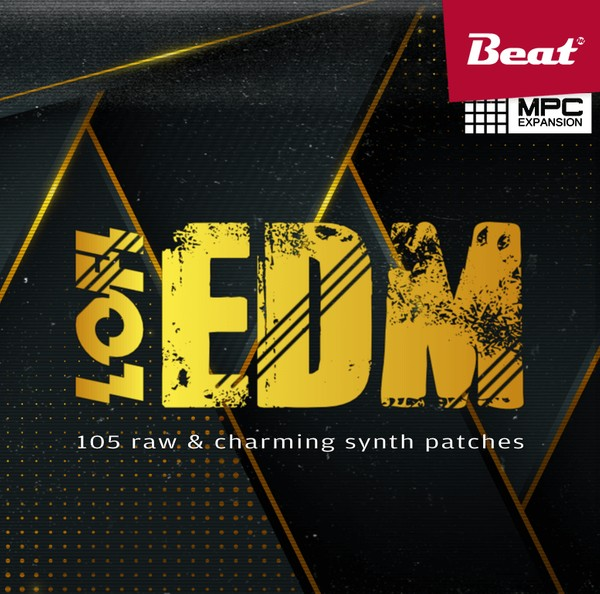 MPC Expansion: LOFI EDM - 105 charming synth patches