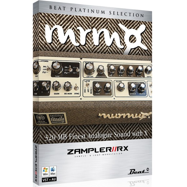 MRMX - Dreadbox Murmux sound bank for Zampler//RX workstation (Win/OSX plugin included)