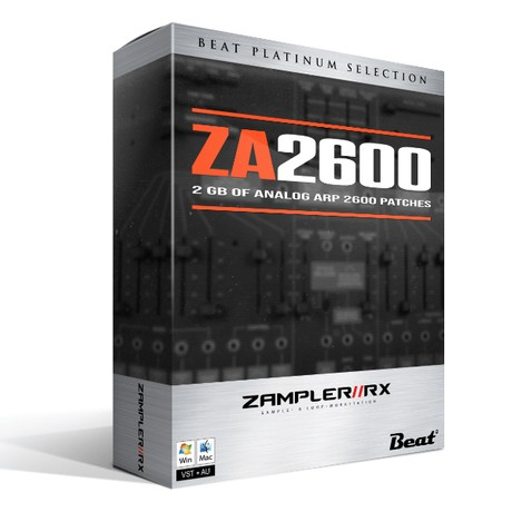 ZA2600 - 2 GB of finest analog ARP 2600 patches