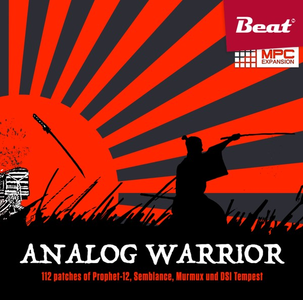 MPC Expansion: ANALOG WARRIOR - 112 patches for Techno & Industrial