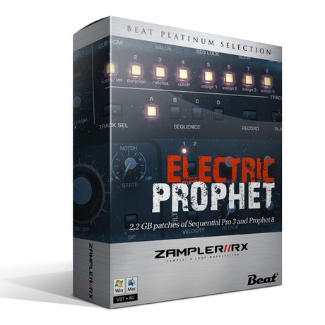 ELECTRIC PROPHET - 107 patches from Sequential Pro 3 and Prophet 08