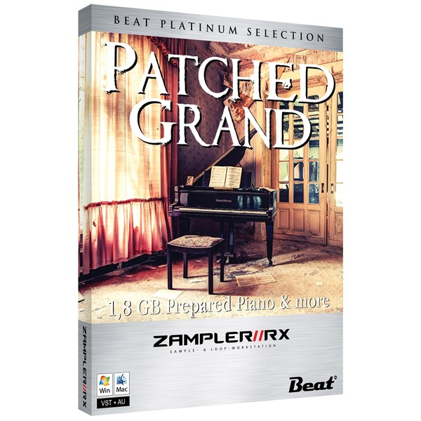 PATCHED GRAND – 30 patches for Zampler//RX workstation