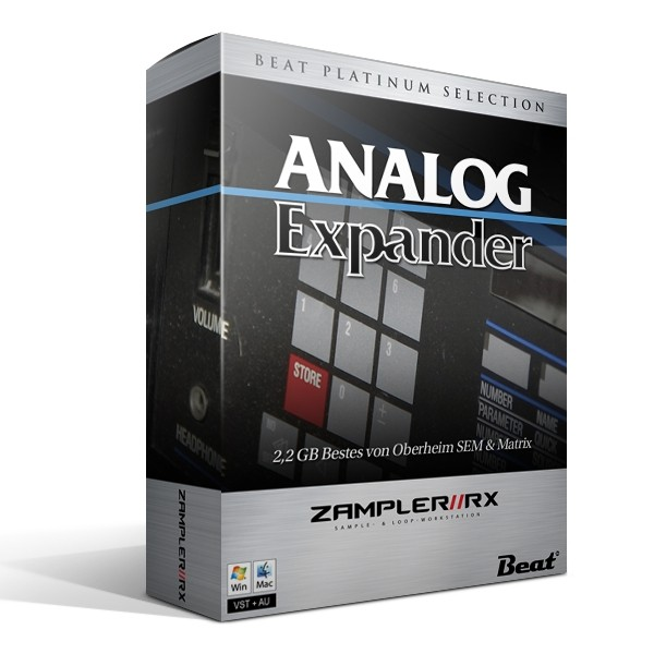 ANALOG EXPANDER – 123 patches for Zampler/RX workstation