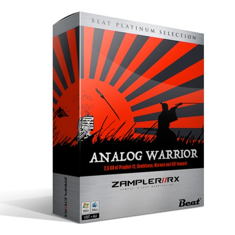 ANALOG WARRIOR - 112 patches for Techno & Industrial