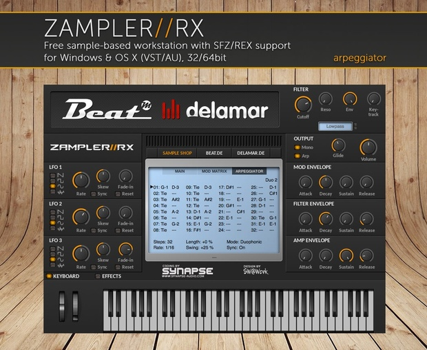 VOXIFYR – 44 patches for Zampler//RX workstation (Win/OSX plugin included)