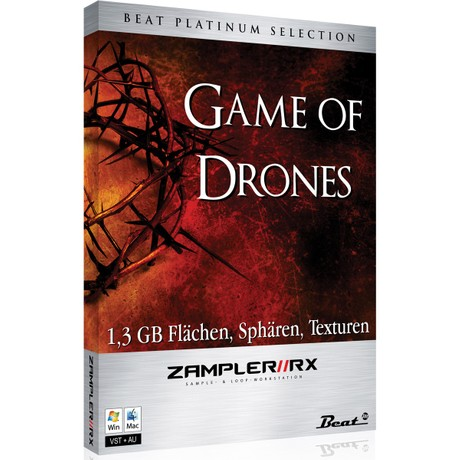 GAME OF DRONES– Sound bank for Zampler//RX workstation (Win/OSX plugin included)