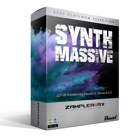 SYNTH MASSIVE – 77 patches for Zampler/RX workstation