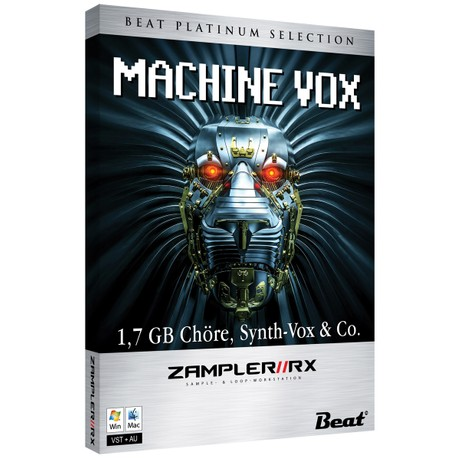 MACHINE VOX – 45 patches for Zampler//RX workstation