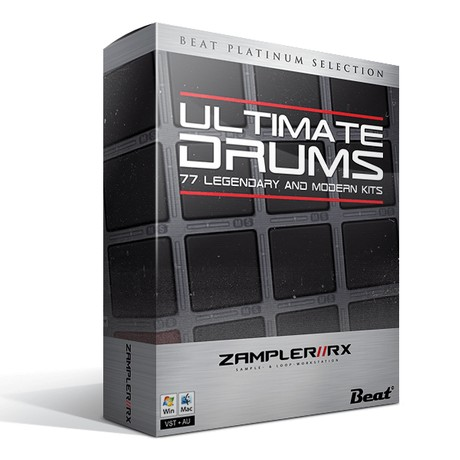 ULTIMATE DRUMS - 77 classics refined