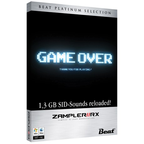 GAME OVER – 48 patches for Zampler//RX workstation