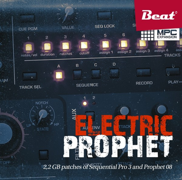 MPC Expansion: ELECTRIC PROPHET - 107 patches from Sequential Pro 3 and Prophet 08