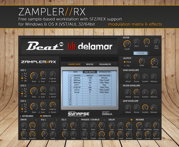 ASSAULT – Heavy sound bank for Zampler//RX workstation (Win/OSX plugin included)