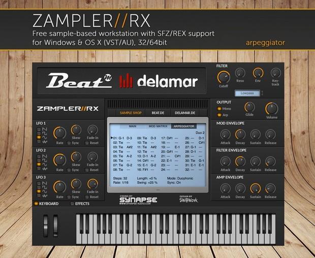 YIN&YANG - BassStation II sound bank for Zampler//RX workstation (Win/OSX plugin included)