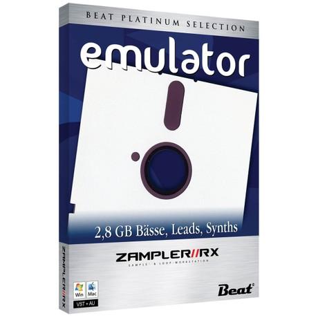 EMULATOR – 120 patches for Zampler/RX workstation