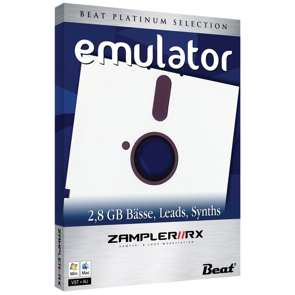 EMULATOR – 120 patches for Zampler/RX workstation