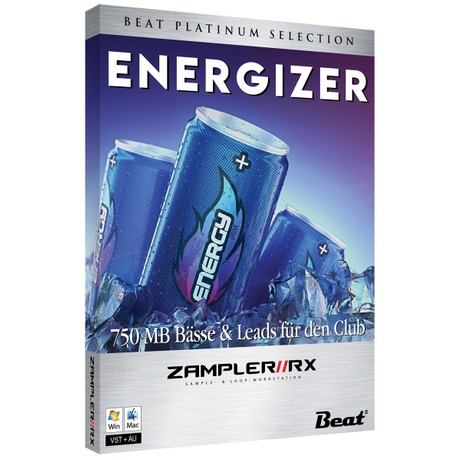 ENERGIZER – 32 club patches for Zampler//RX workstation