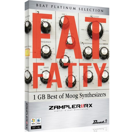 FAT FATTY – Sub Phatty sound bank for Zampler//RX workstation (Win/OSX plugin included)