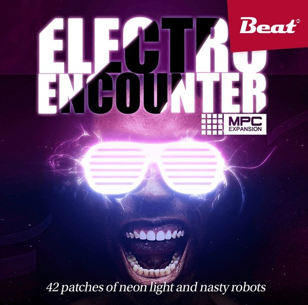 MPC Expansion: ELECTRO ENCOUNTER - 42 patches of neon light and nasty robots