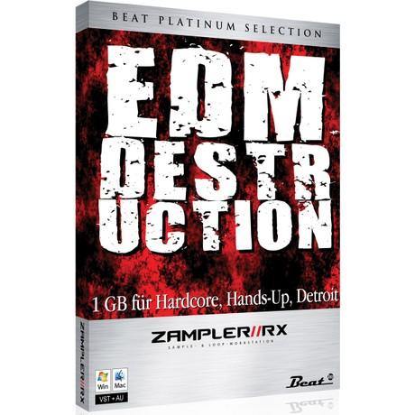 EDM DESTRUCTION – sound bank for Zampler//RX workstation (Win/OSX plugin included)