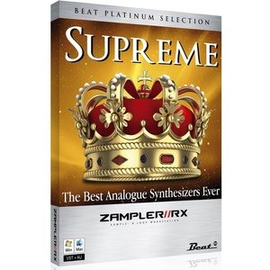 SUPREME - EDM sound bank for Zampler//RX workstation (Win/OSX plugin included)