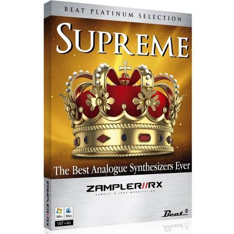 SUPREME - EDM sound bank for Zampler//RX workstation (Win/OSX plugin included)