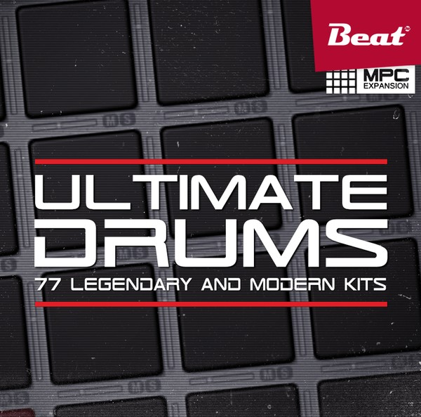 MPC Expansion: ULTIMATE DRUMS - 77 classics refined
