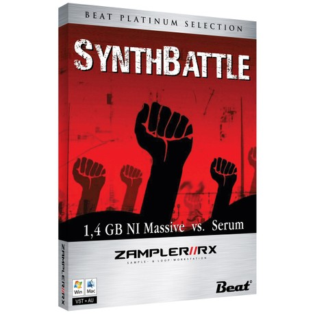 SYNTH BATTLE – MASSIVE VS. SERUM – 60 Patches for Zampler/RX